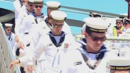 HMAS Newcastle Returns From Six-Month Middle East Deployment