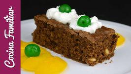 Brownie de chocolate con almendras - Recetas de morroneo