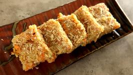 Gajar Barfi - Carrot Barfi