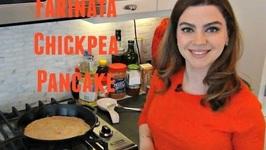 Chickpea Flatbread AKA Socca Or Farinata