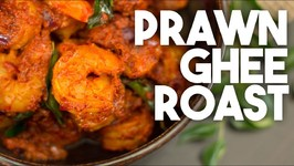 Prawn Ghee Roast - Kerala style Prawn or Shrimp