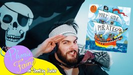 Portside Pirate Children's Music Video  Read By The Phonic Fairy