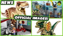 MORE Jurassic World Fallen Kingdom Official Set Reveals - Brick Show News