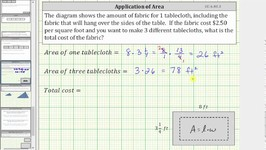 Cost Application - Products Involving a Mixed Number and Decimal - CC 6 NS 3