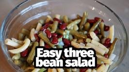 Easy Classic Three Bean Salad - 2018