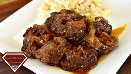 The Best Smoky BBQ Oxtails Recipe - BBQ Crock Pot And Oven Methods