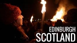 Edinburgh, Scotland - Hogmanay Torch Procession