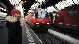 Travel Through Switzerland In The Gotthard Base Tunnel