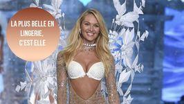 Candice Swanepoel nommée mannequin lingerie no 1