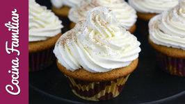 Cupcakes de Pedro Ximénez con crema de queso paso a paso