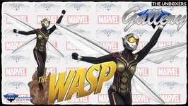 Diamond Select Toys The Wasp Marvel MCU Gallery Collection Statue Unboxing