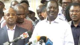 Odinga Says He Was Temporarily Detained by Police in House of Businessman