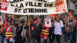 Public Sector Workers Stage Nationwide Strike in France