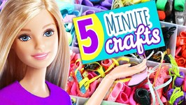 30 DIY Miniature Barbie  Doll Shoes - How To Make Barbie Doll Shoes - Easy Doll Crafts