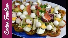 Ensalada de verano, fresca y nutritiva