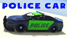 Police Car Videos For Toddlers  - Fun Vehicle Videos For Babies