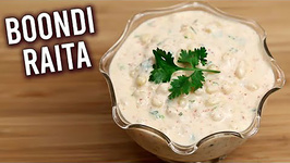 Boondi Raita / How To Make Yogurt Dip Raita Recipe / Best Dip Recipe For Biryani Ruchi
