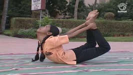 Yoga Exercise For Beginners In Tamil - Dhanurasana - Bow Pose
