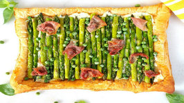 Brunch Recipe - Asparagus, Pea And Prosciutto Tart