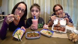 Chinese Food-Pekin Duck, Mousse And Bubble Tea /Gay Family Mukbang- Eating Show