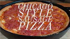 Chicago Style Sausage Pizza - Matador Prime Steaks