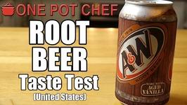 Taste Test - Root Beer (USA)