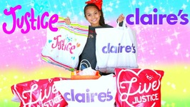 Justice And Claires Haul 2017 Christmas Holiday Shopping Winter Clothing And Accessories