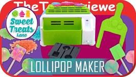 Sweet Treats Lane Lollipop Maker Novelty Unboxing Review