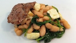 Lamb With Bean Salad