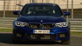 The BMW M5 Exterior Design on Location Estoril