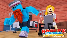 ESCAPING LITTLE KELLY'S CRAZY HOSPITAL !!!! Sharky Gaming - Roblox