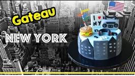 Gâteau New York - New York Cake - Cake Design