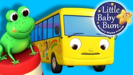 Ten Little Buses - Part 2 - From Wheels On The Bus - Nursery Rhymes