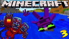 Minecraft Mods - MONSTERCRAFT - Ep  3 'SECRET ROOM'