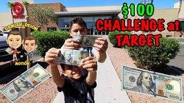 100 Dollar CHALLENGE at TARGET - KEEP IT UNDER 100 Dollars - D&D SQUAD