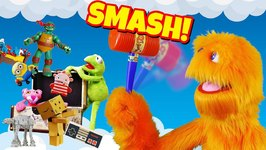 Fuzzy Smashes All His Toys - Bad kid video