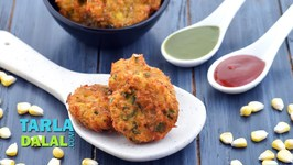 Masala Sweet Corn Vada recipe