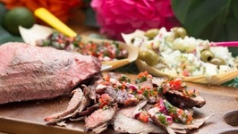 Brazilian-style Barbecue With Potato Salad