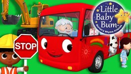Wheels On The Bus - Part 14 - Nursery Rhymes - Original Version