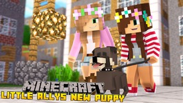 Minecraft - Little Kelly Adventures : MEETING LITTLE ALLYS PUPPY!!