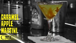 How To Make The Caramel Apple Martini -Fall And Halloween Cocktails