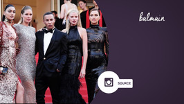 Olivier Rousteing is living every mans dream in Cannes