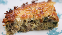 Frittata - Mushroom And Cheese Frittata - Nick Saraf's Foodlog