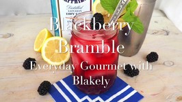 Cocktail Recipe-Blackberry Bramble