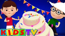 Best Happy Birthday To You Song - Birthday Songs - Kids Tv Nursery Rhymes  For Children
