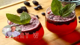 Refreshing Berry Spritzer