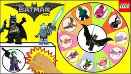 LEGO BATMAN MOVIE TOYS Slime Wheel Game  Surprise LEGO BATMAN Blind Bags TOYS Kids Games