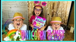 Easiest Slime Recipe UNICORN SLIMY GLOOP