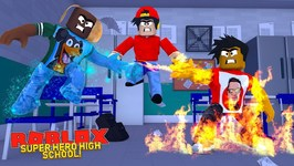 ROBLOX SUPER HERO HIGH SCHOOL - WHAT IS DONUT AND ROPO'S NEW SUPER HERO POWER IN HIGH SCHOOL?