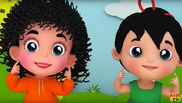 Junior Squad - Chubby Cheeks - Nursery Rhyme - Baby Rhymes - Kids Videos - 3D Rhymes